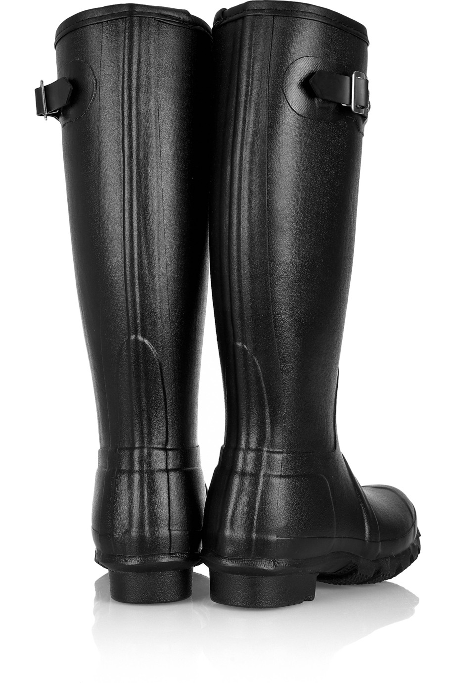 Hunter Original Tall Shearling-Lined Wellington Boots In