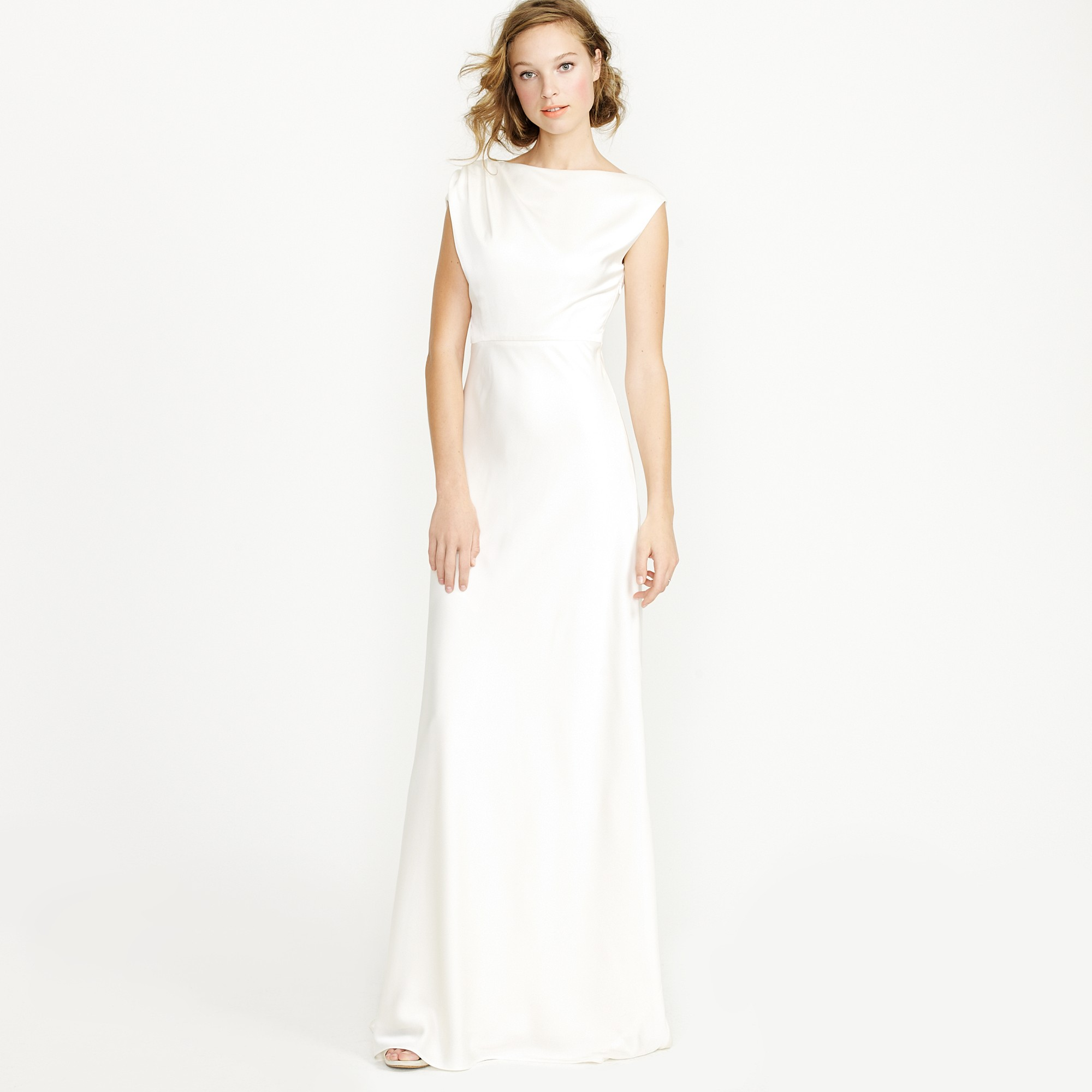 Lyst - J.Crew Carina Gown in White