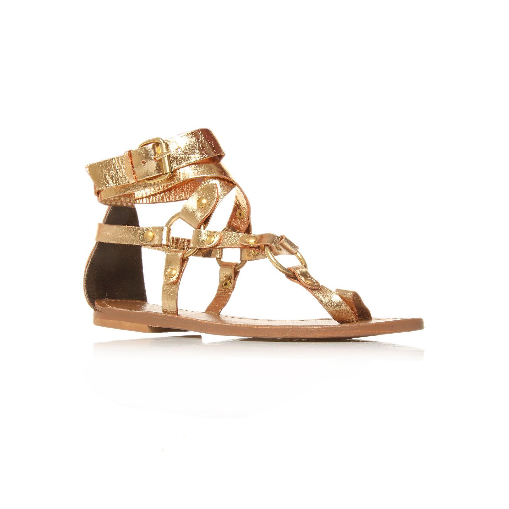 Kurt Geiger Kassandra Sandals In Metallic Lyst