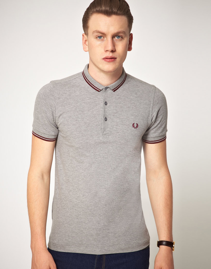 Fred Perry Fred Perry Slim Fit Micro Collar