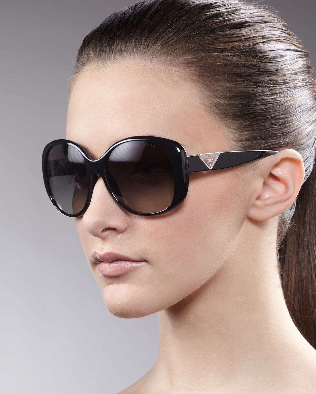 d54e0eb73ff Lyst - Prada Timeless Heritage Sunglasses in Black
