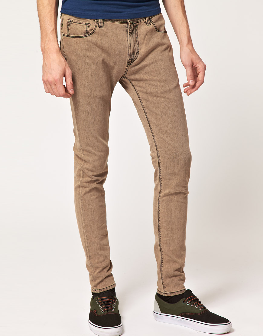 Find brown skinny jeans for men at ShopStyle. Shop the latest collection of brown skinny jeans for men from the most popular stores - all in one.