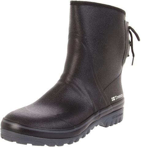 Tretorn Mens Sub Winter Rain Boot In Black For Men blackgrey