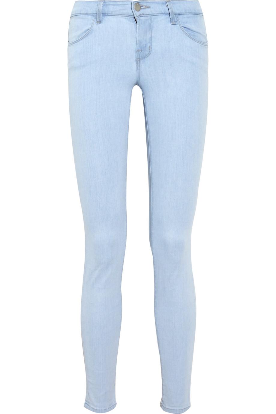 J Brand Lowrise Skinny Jeans in Denim (Blue)