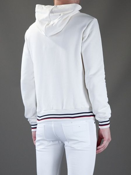 Dolce & Gabbana Hoodie in White for Men | Lyst