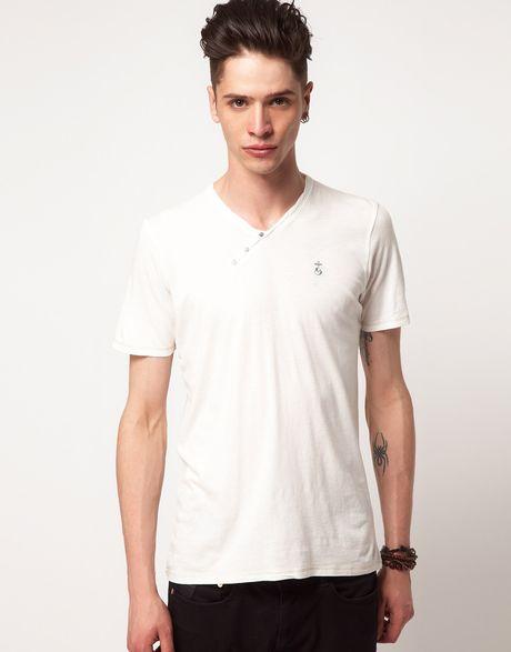 Elvis jesus elvis jesus hackney basic tshirt in white for for Elvis jesus t shirt