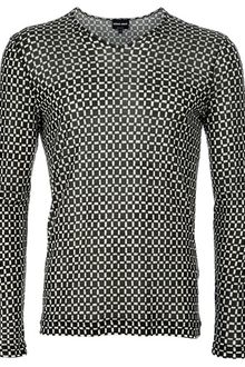Giorgio Armani Long Sleeved Top - Lyst