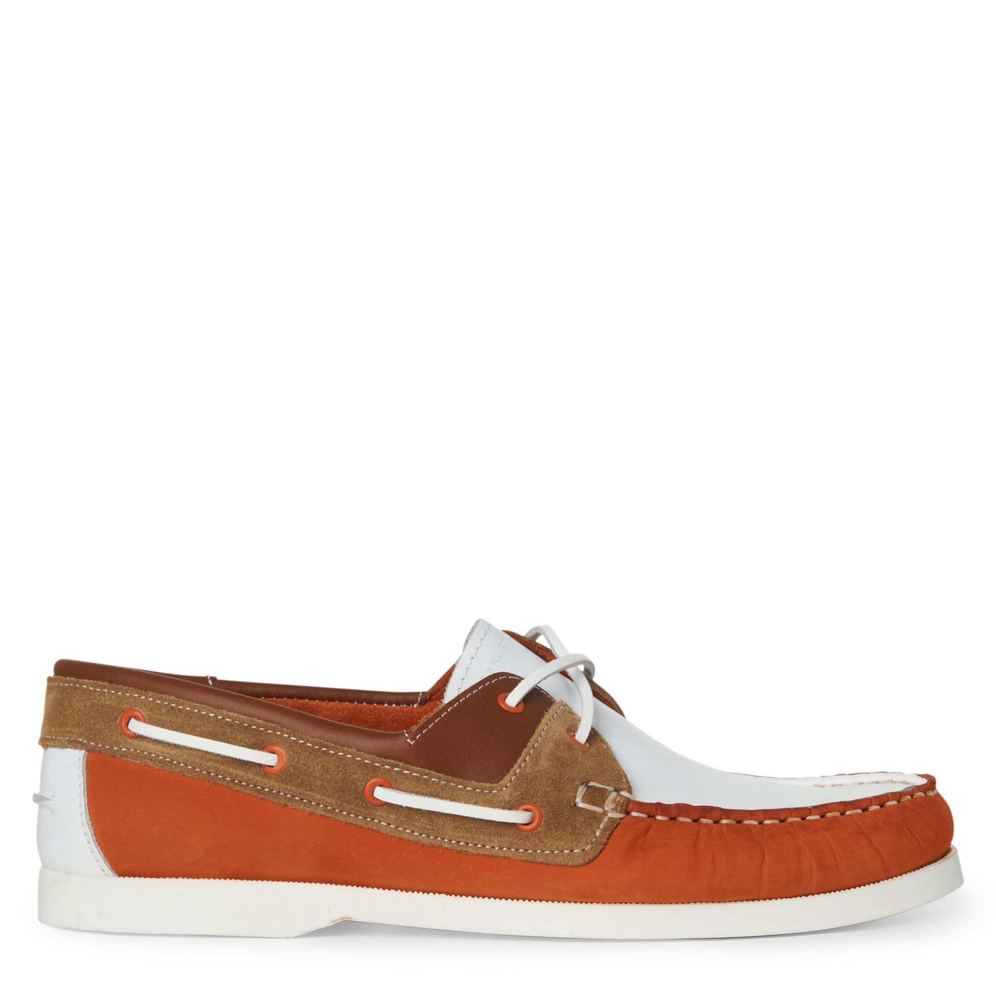 KG by Kurt Geiger Sorrento Laceup Shoes in Orange (Brown) for Men