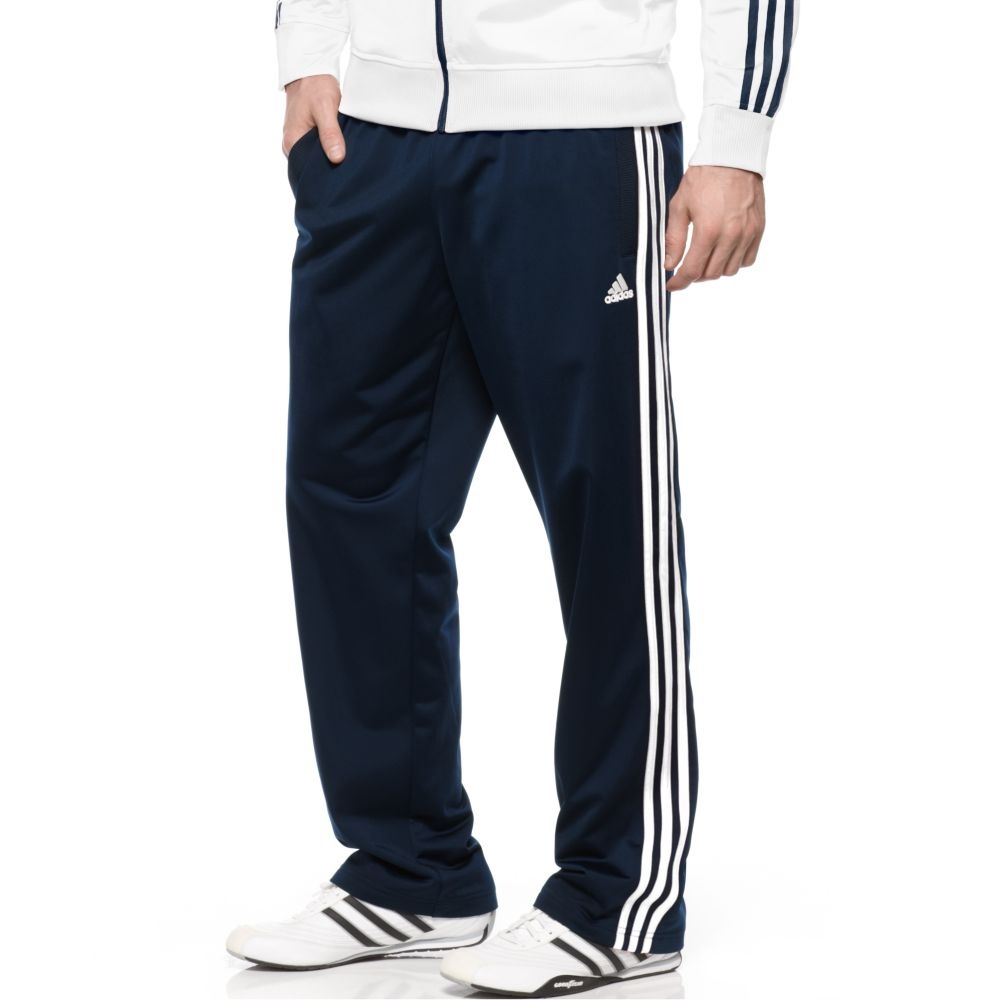 Lyst Adidas Big And Tall Tricot Track Pants In Blue For Men