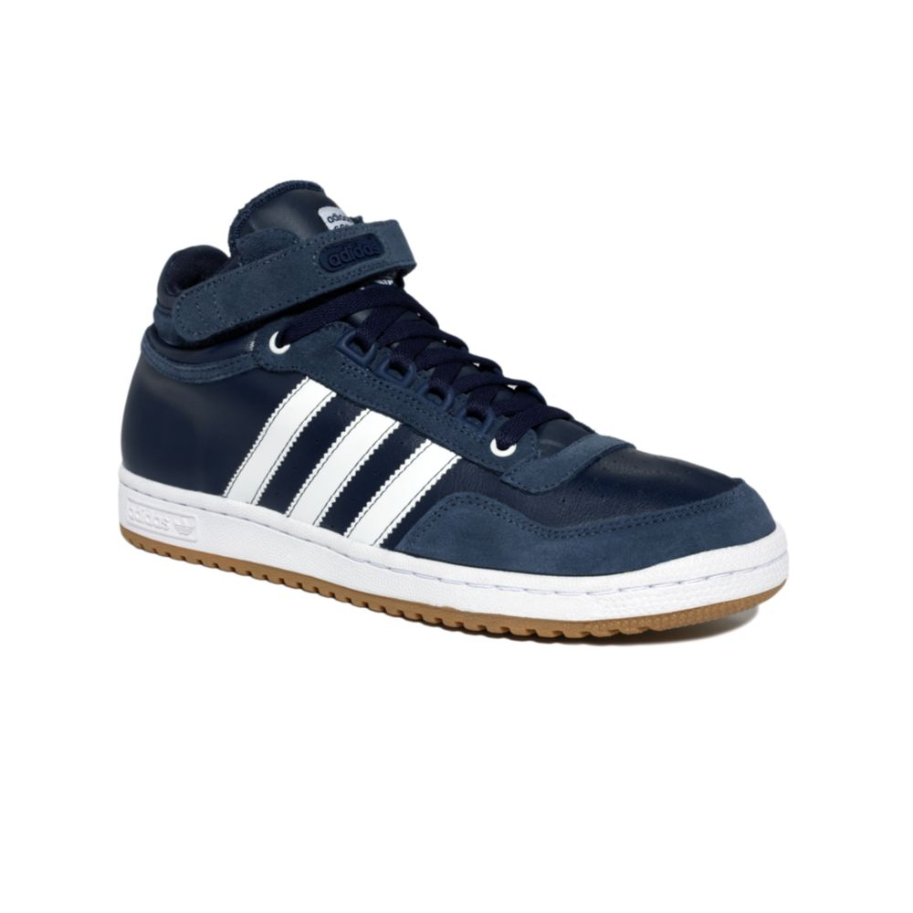 chaussures de sport 4990a 10cc0 Adidas Blue Concord Mid Sneakers for men