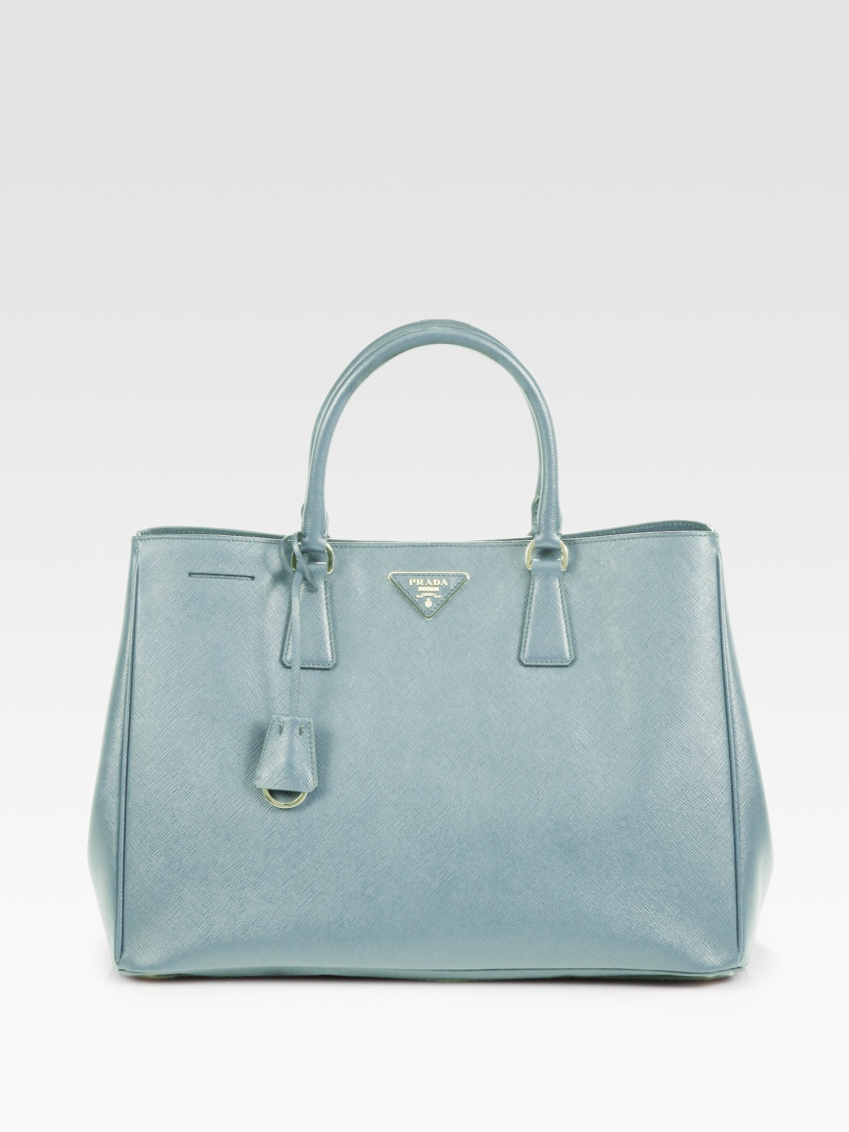 25aa2c86509a Prada Saffiano Lux Tote Bag Blue | Stanford Center for Opportunity ...