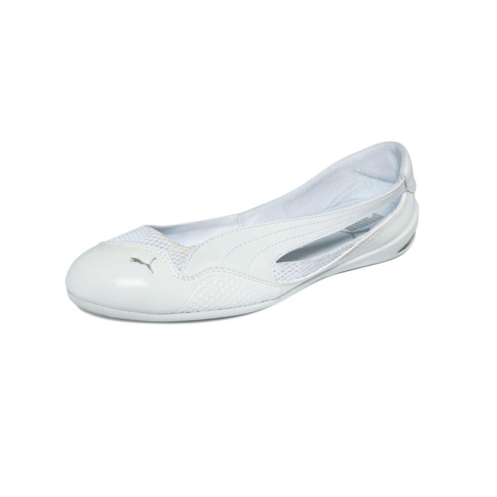 Lyst - PUMA Winning Diva Ballerina Flats in White 7cf401ac1