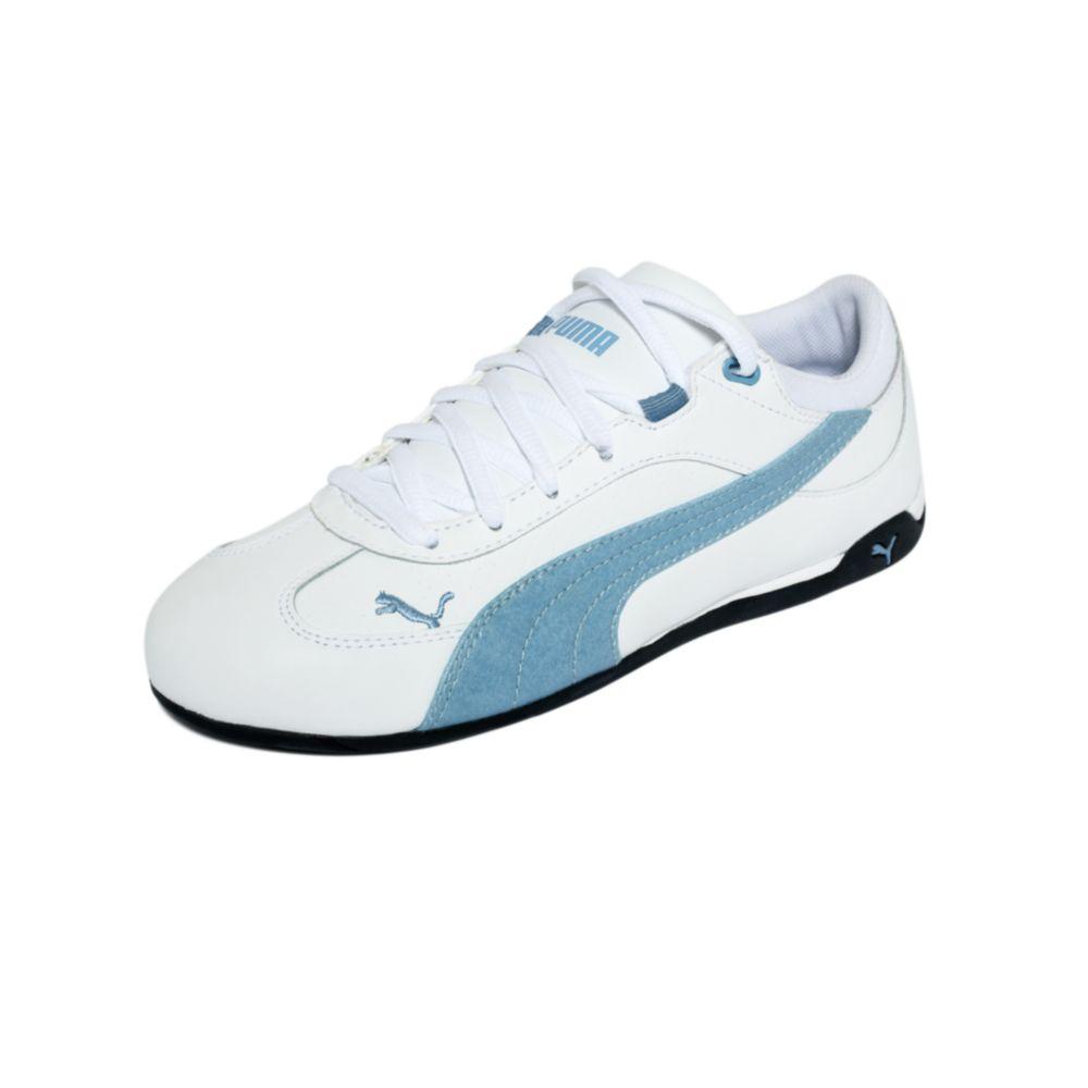 super economico originale a caldo New York PUMA Fast Cat Lea Sneakers in White/Blue (White) - Lyst