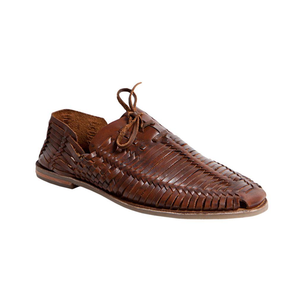 9368475981e Steve Madden Brown Reston Huarache Sandals for men
