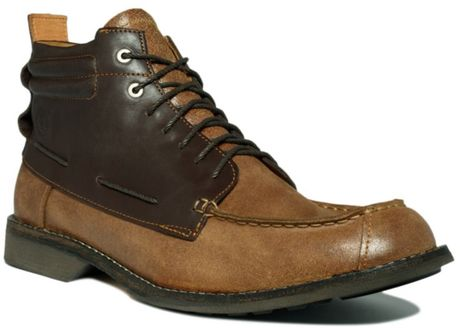 Timberland Earthkeepers City Moc Toe Chukka Boots In Brown