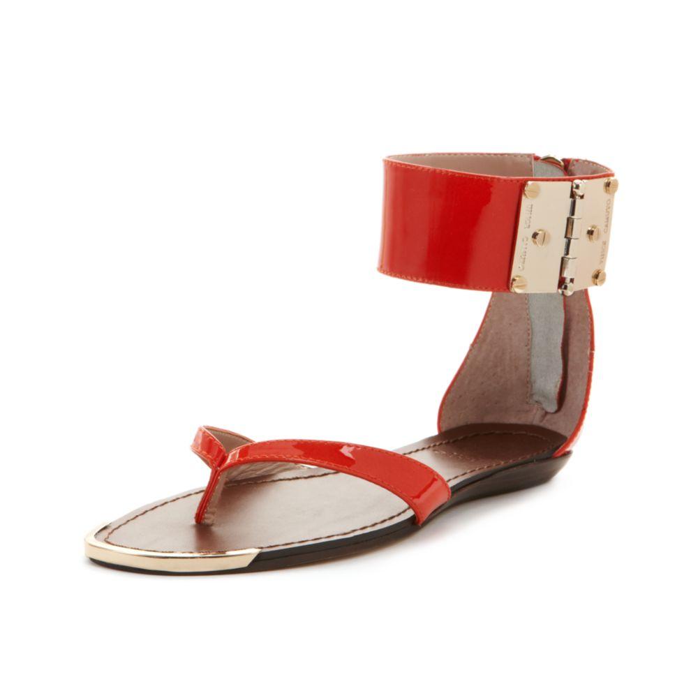 Vince Camuto Kastern Flat Sandals - Lyst