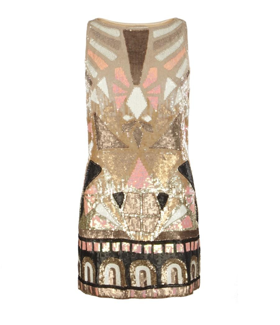 All Saints Sequin Dress