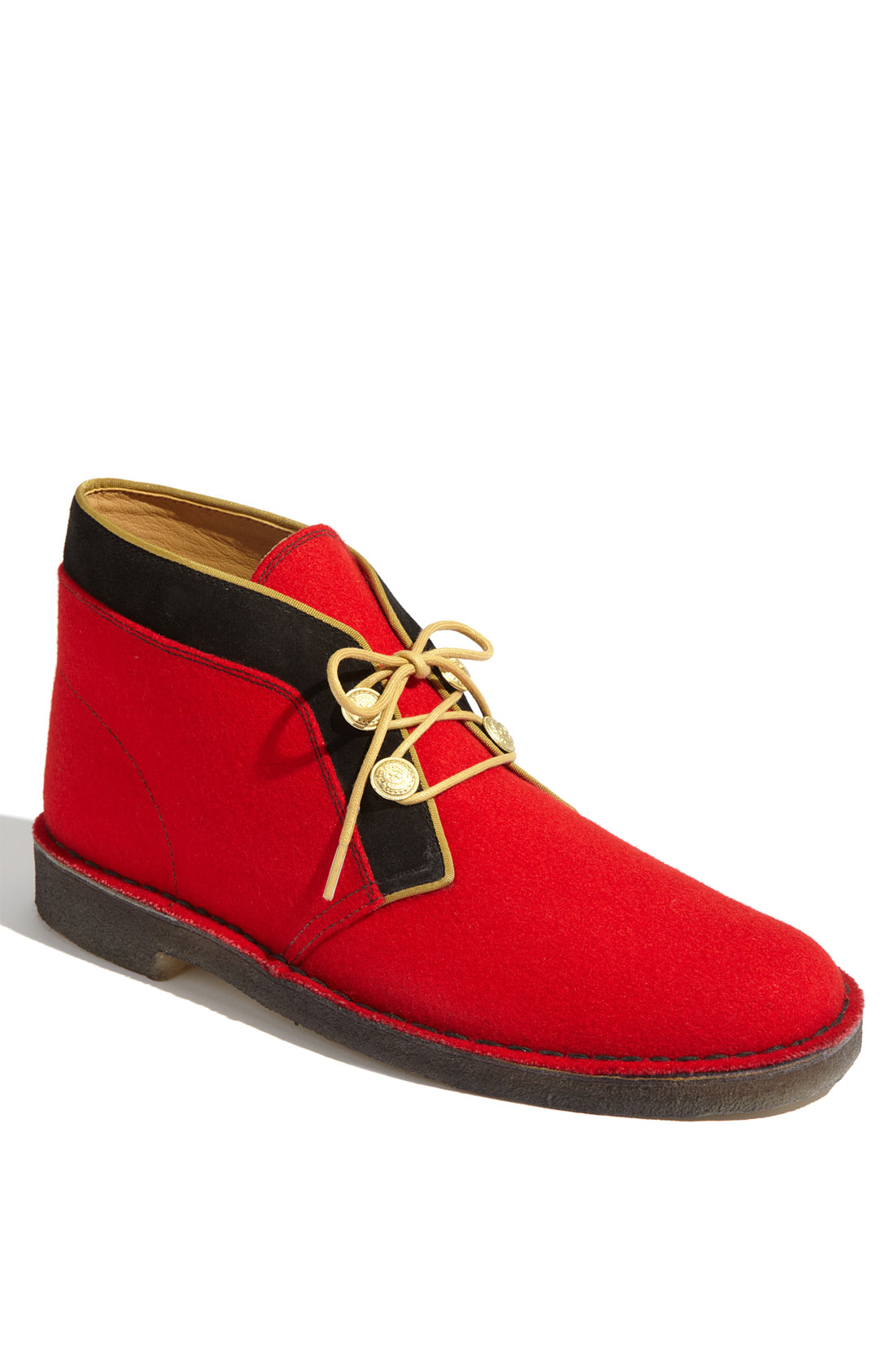 Lyst Clarks Clarks Originals Desert Boot In Red For Men