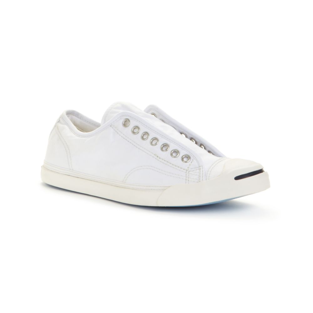 Converse Jack Purcell Lp Salty Slip On Sneakers in White for Men ...