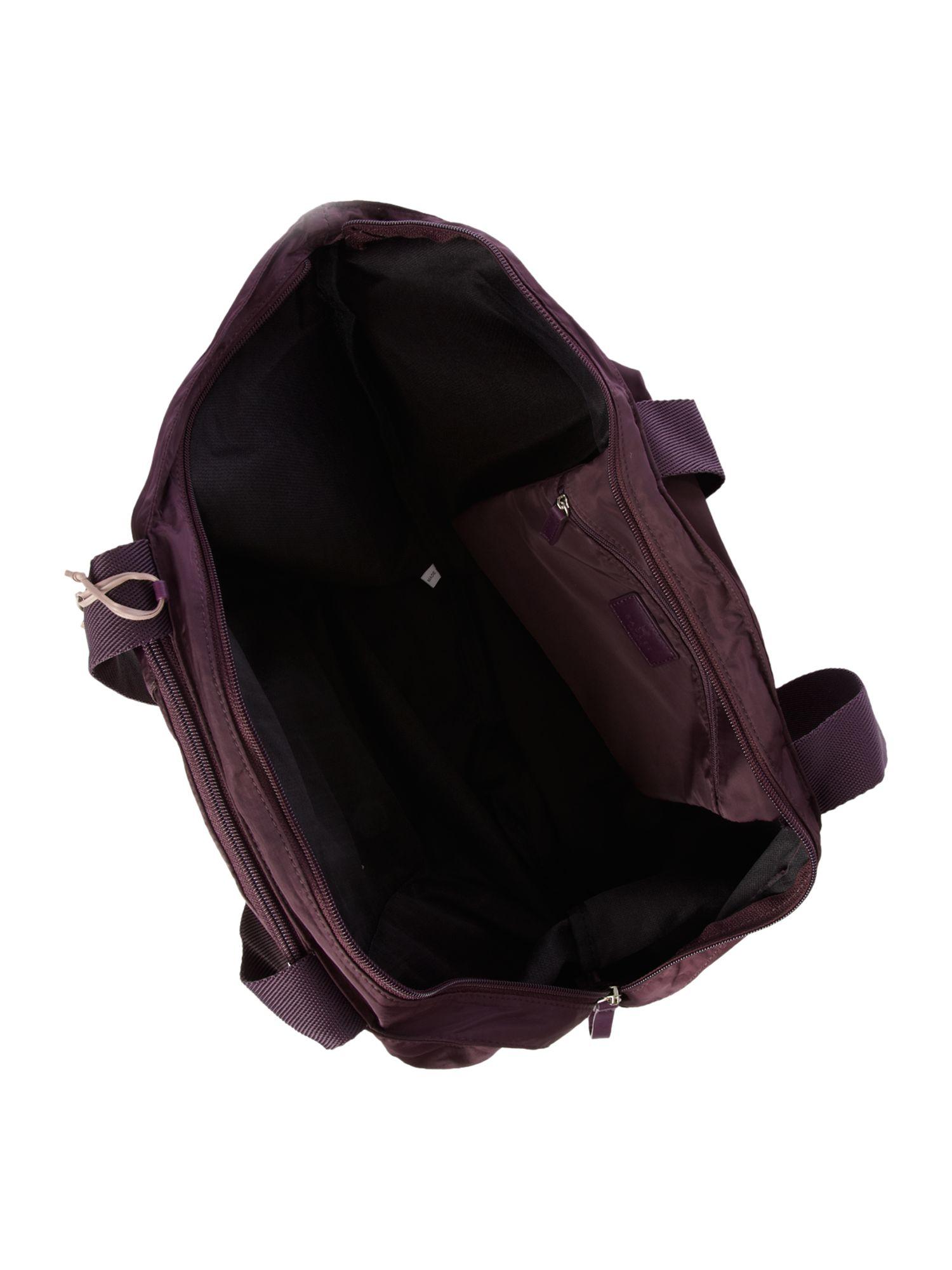 Radley Large Shoulder Foldaway Tote in Purple (Brown)