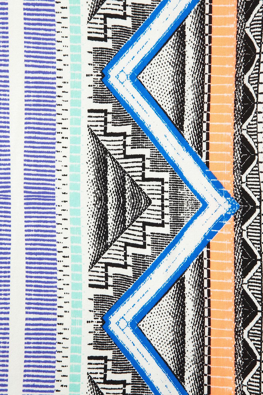 Topshop Aztec Stripe Bodycon Dress Lyst