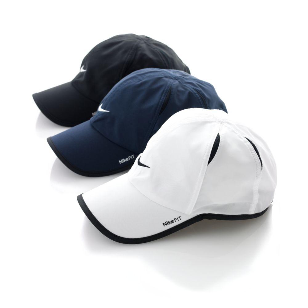 Lyst - Nike Dri Fit Feather Light Cap in Black for Men 0fdd12a5184