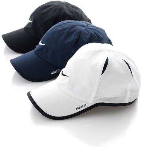 nike dri fit feather light cap in blue for men lyst. Black Bedroom Furniture Sets. Home Design Ideas