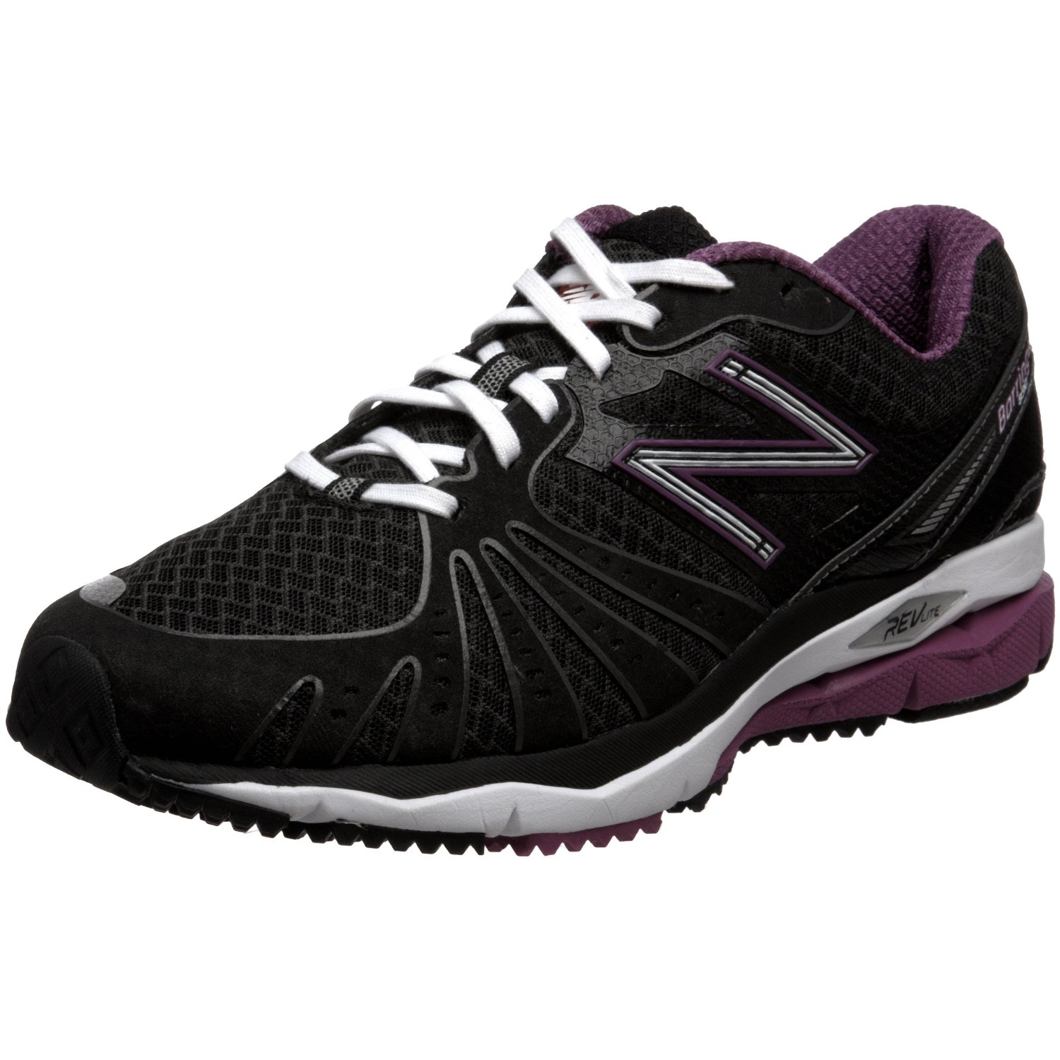 new balance new balance womens wr890 running shoe in black