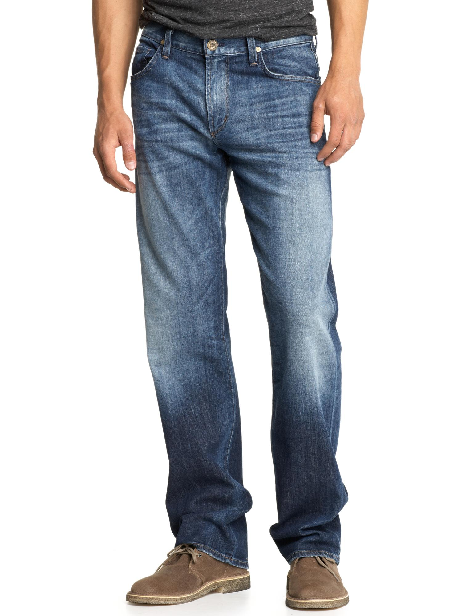 citizens of humanity evans relaxed jeans in blue for men. Black Bedroom Furniture Sets. Home Design Ideas