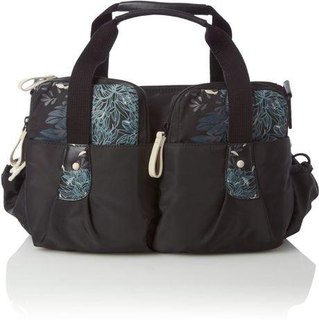Radley Botanical Large Nylon Baby Bag In Black Lyst