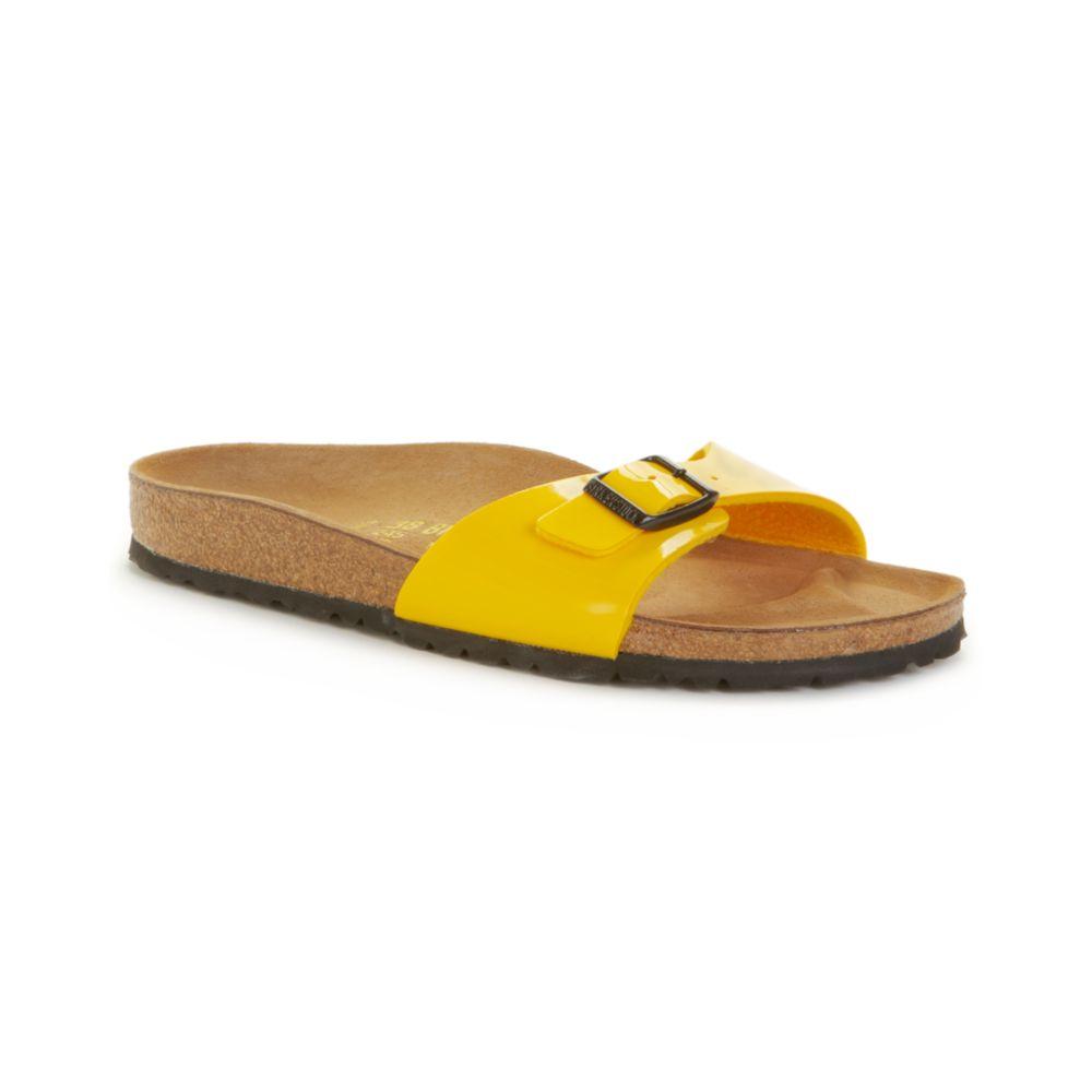 Birkenstock Madrid Sandals In Yellow Lemon Yellow Lyst