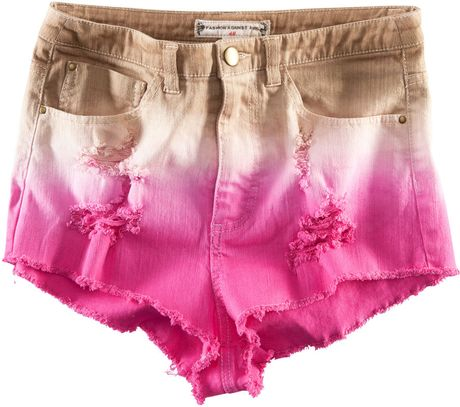H&m Denim Shorts in Multicolor (denim) - Lyst