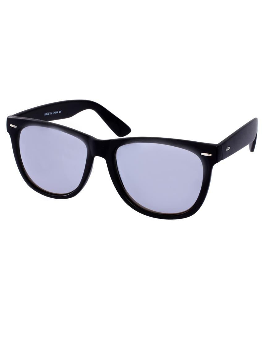 d4cd174296b Lyst - ASOS Asos Large Wayfarer Sunglasses in Black for Men