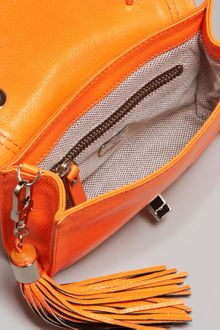 Diane Von Furstenberg Mini Harper Bag Neon Orange - Lyst