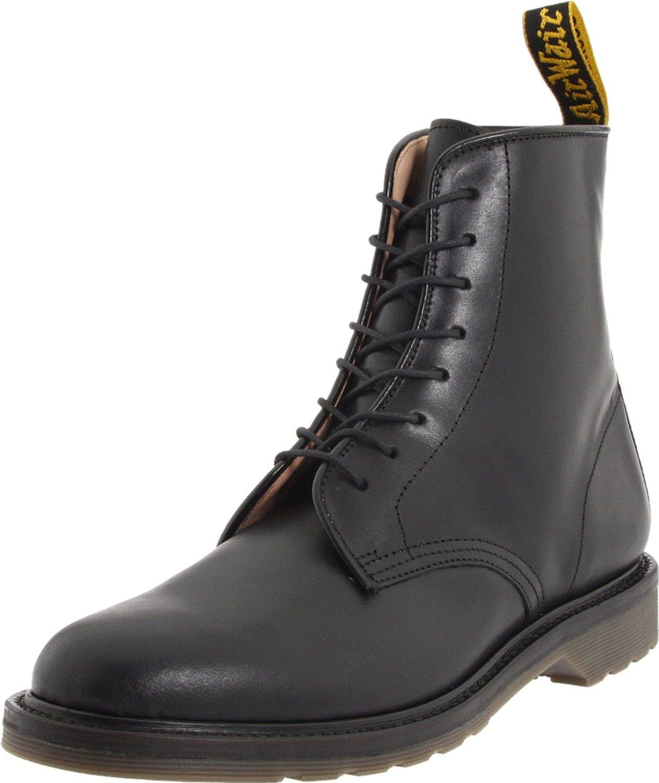 dr martens dr martens mens jeffery boot in black for