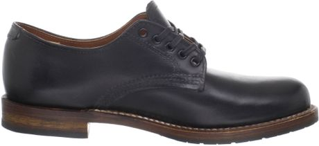 ботинки Red Wing Beckman Oxford Black Featherstone 20