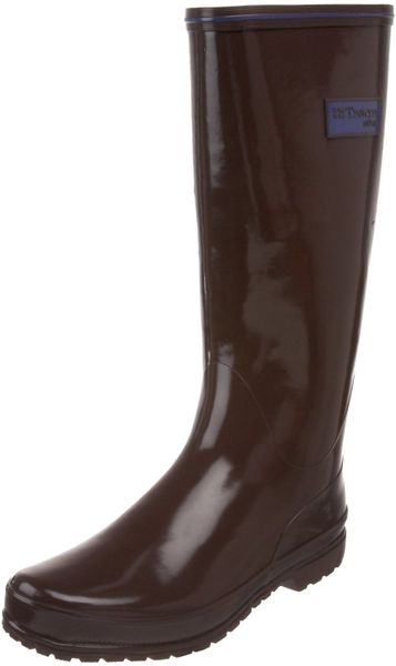 Tretorn Tretorn Womens Kelly Rubber Boot in Brown (dark brown) - Lyst