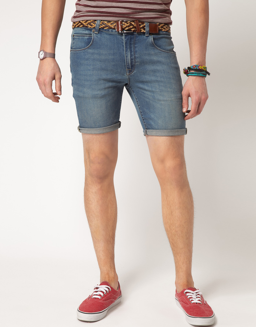 We have skinny shorts for when you want to keep it tight. When you want to spend a day just lounging around the house, slip on a pair of comfy jogger shorts. After running around in the summer sun in a pair of jean shorts and a muscle tank, swing by our swim trunks collection when you .