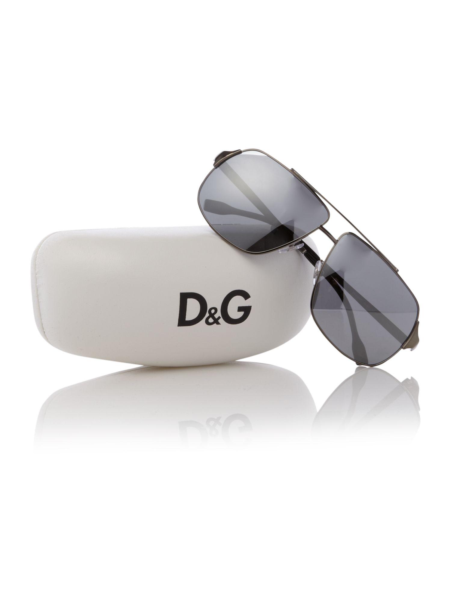 Dolce & Gabbana Mens Sunglasses in Metallic for Men