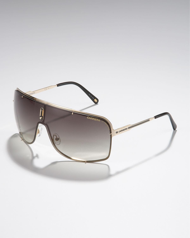 77b97dba72af Carrera Metal Shield Sunglasses, Golden in Metallic for Men - Lyst