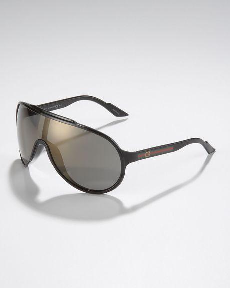 8e05ffae2ab Gucci Black Acrylic Wayfarer Sunglasses