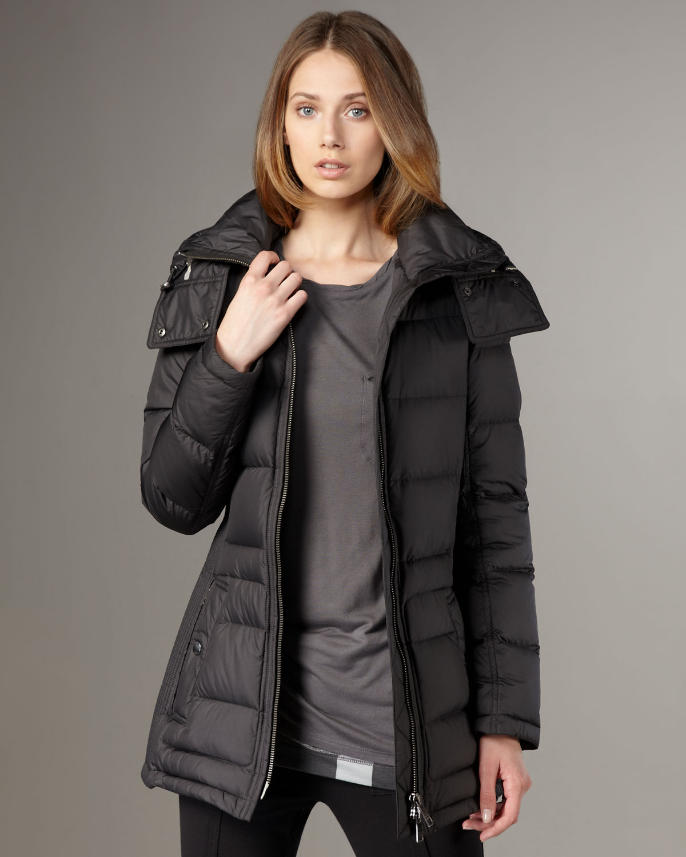 277dafacf Burberry Brit Black Short Puffer Coat