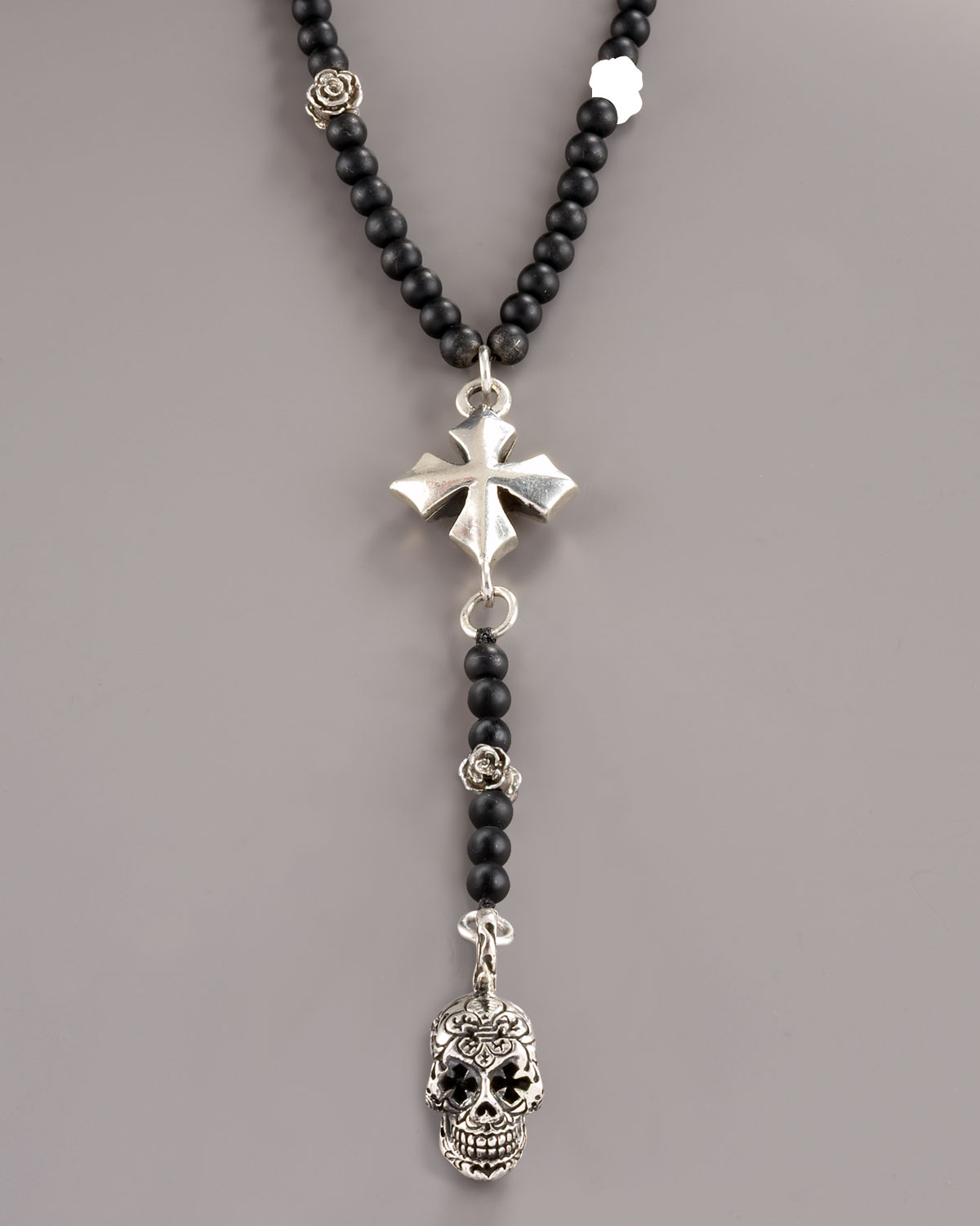 1fc3db70b King Baby Studio Day Of The Dead Rosary in Black for Men - Lyst