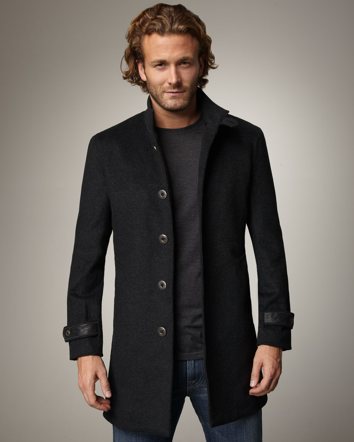 Royal underground London Coat in Gray for Men | Lyst