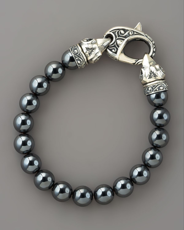 10mm Hemae Bead Bracelet