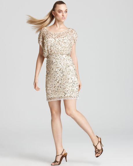 Sparkly Dresses: Aidan Mattox Sequin Dresses On Sale