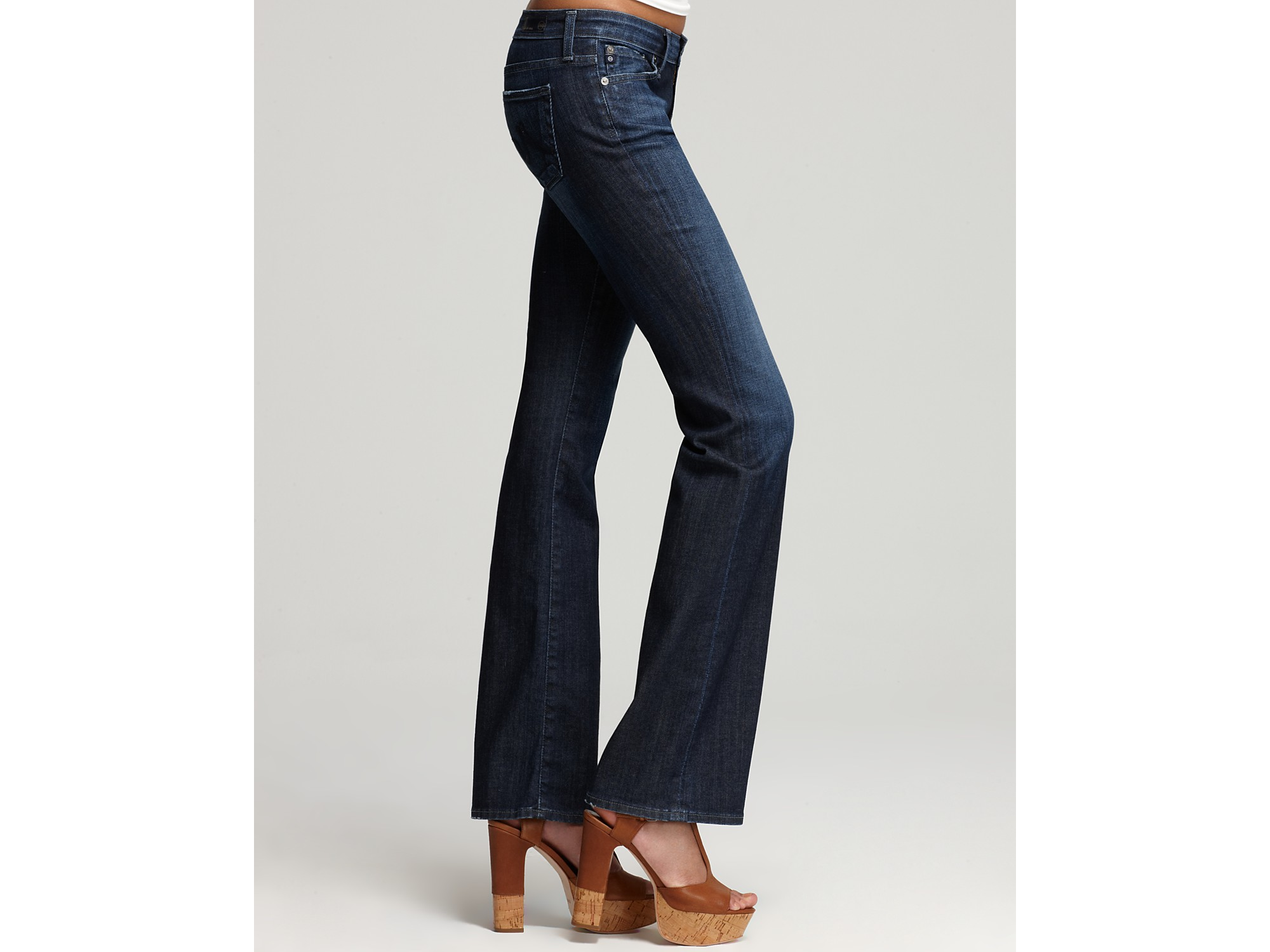 The jessie curvy bootcut jeans