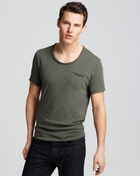 Converse Black Canvas Slouchy Crewneck Tee in Green for Men (grape leaf) - Lyst