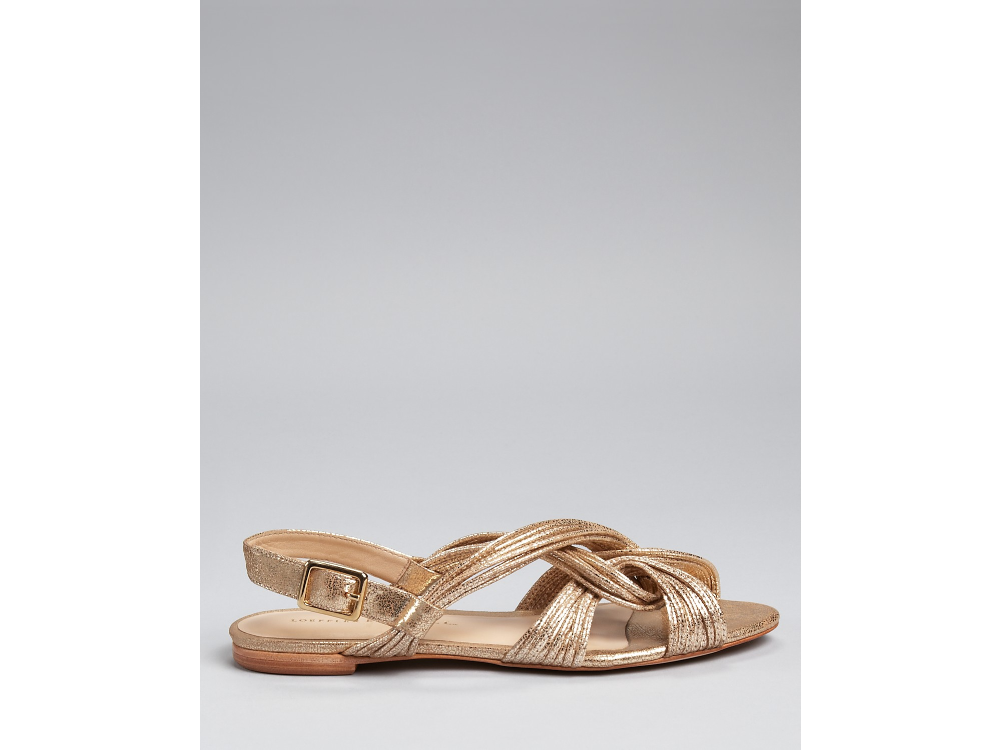 Loeffler Randall Metallic Filippa Sandals