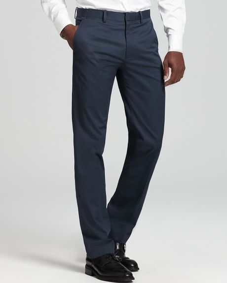 Theory Balance Marlo Pants in Blue for Men (eclipse)